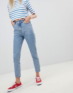 Read more about Monki kimomo mom jeans - light blue
