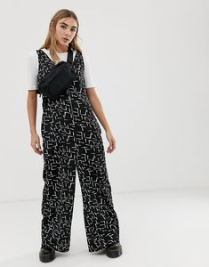 Read more about Noisy may oversized printed wide leg jumpsuit