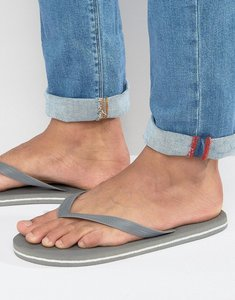 Read more about Asos flip flops in grey - grey