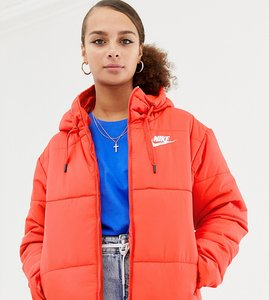 Read more about Nike red padded jacket with hood