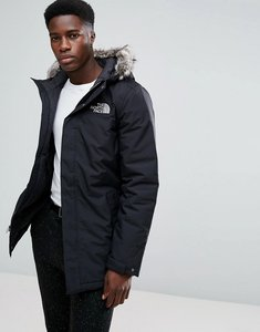 Read more about The north face zaneck detachable faux fur hood jacket in black - tnf black