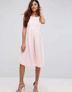 Read more about Be jealous skater prom midi dress - baby pink