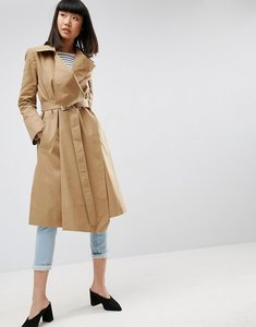 Read more about Asos structured trench coat - stone
