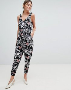 Read more about Oasis tropical print jumpsuit - multi
