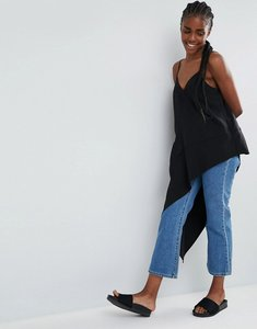 Read more about Asos ultimate asymmetric cami - black