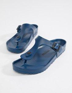 Read more about Birkenstock gizeh eva sandals in navy - navy