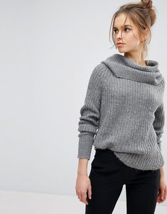 Read more about Vila cowl neck knitted jumper - mgm
