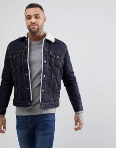 Read more about Levis type 3 borg jacket raw power indigo wash - raw power sherpa