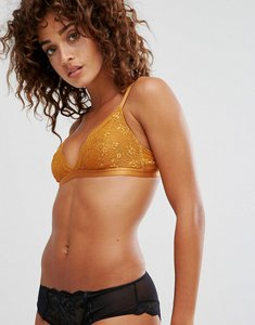 Read more about Boux avenue lucie mustard triangle bra - yellow