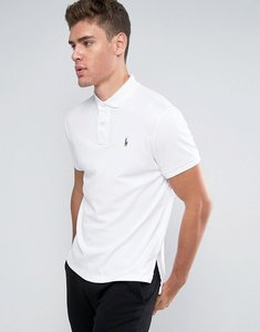 Read more about Polo ralph lauren polo shirt slim fit pima soft touch - white