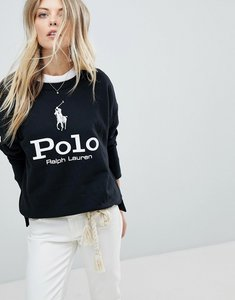 Read more about Polo ralph lauren polo horse logo sweat - black