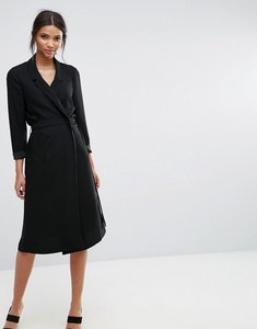 Read more about Selected violie long sleeve blazer dress - black