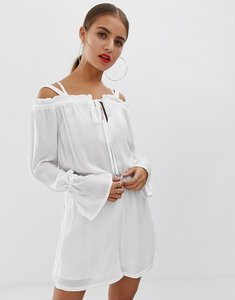Read more about Noisy may off shoulder playsuit