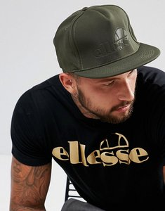 Read more about Ellesse snapback cap with tonal logo in green - green