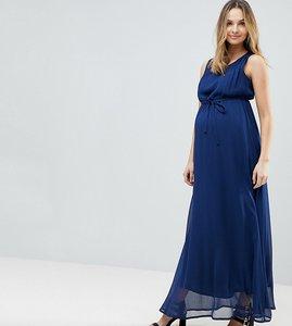 Read more about Mamalicious sleeveless woven maxi dress - navy