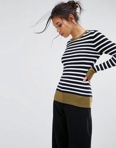 Read more about Warehouse breton stripe jumper - multi