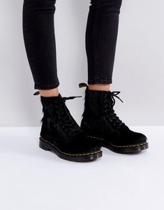 Read more about Dr martens 1460 pony hair boots - black long hair