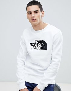 Read more about The north face drew peak crew neck sweat in white - white
