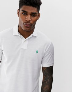 Read more about Polo ralph lauren player logo recycled pique polo in white