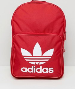 f89b6e7417dc Read more about Adidas originals large trefoil logo backpack in red dq3157  - red