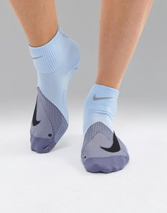 Read more about Nike running elite lightweight socks in blue - blue