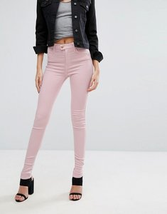 Read more about Replay touch super high rise skinny jeans - pink