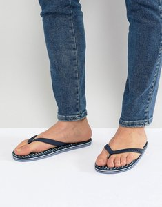 Read more about Ted baker flyxx logo flip flops - navy