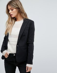 Read more about Y a s peyton suit blazer co-ord - black