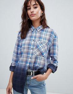 Read more about Esprit ombre check shirt - blue