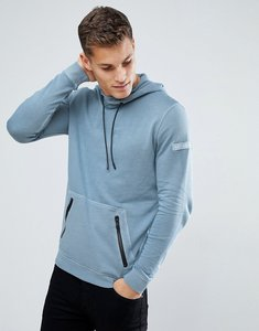 Read more about Tom tailor hoodie in washed blue with contrast trims - 6324