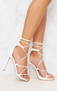 08825d8b2c4 ghillie lace up heels white - Shop ghillie lace up heels white ...