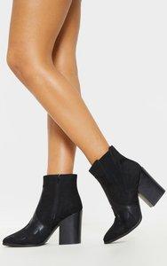 bd94f919b3123 womens sassy black low heel ankle boot by kurt geiger black black ...
