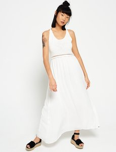 Read more about Superdry isla scoop crochet maxi dress