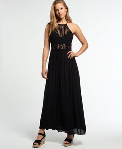 Read more about Superdry isla crochet maxi dress