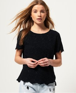 Read more about Superdry lilah schiffli tee