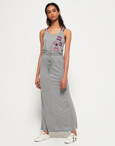 Read more about Superdry tri colour strap maxi dress
