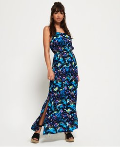 Read more about Superdry blake printed maxi dress
