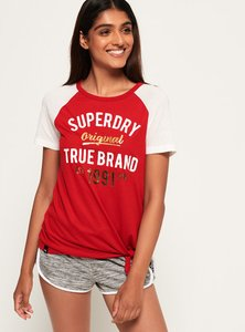 Read more about Superdry la knot front t-shirt