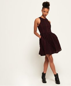 Read more about Superdry eloise schiffli racer dress
