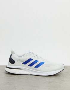 Read more about Adidas running supernova trainers in white
