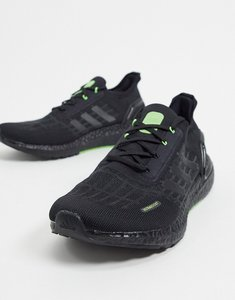 Read more about Adidas running ultraboost summer rdy trainers in black