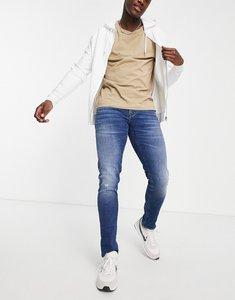 Read more about Armani exchange j14 skinny jeans in indigo wash-black