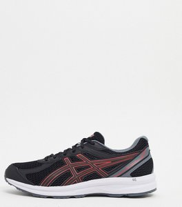Read more about Asics running gel braid trainers in black