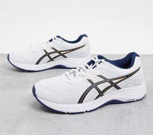 Read more about Asics running gel contend trainers in white