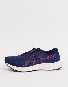 Read more about Asics running gel-excite 7 trainers in navy and red