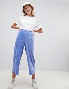 Read more about Asos design culottes in jersey cord-blue