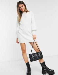 Read more about Asos design mini rib dress in cream