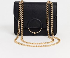 Read more about Asos design ring and ball cross body bag with chain strap-black