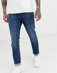 Read more about Asos design stretch slim jeans in dark wash blue