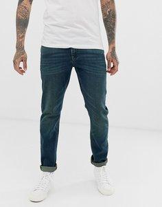 Read more about Asos design stretch slim jeans in vintage dark wash blue